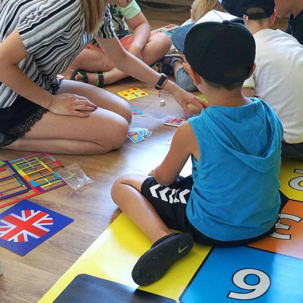 Gra językowa w Szkole Językowej w Ostrowie Wielkopolskim