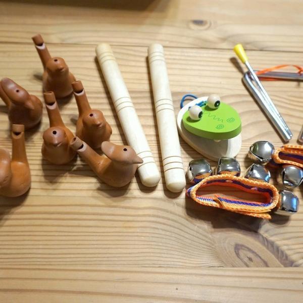 Instrumenty do gier i zabaw muzycznych