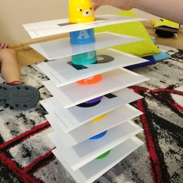 Kolory i liczby - powtórzenie słownictwa - Szkoła Językowa Ostrów