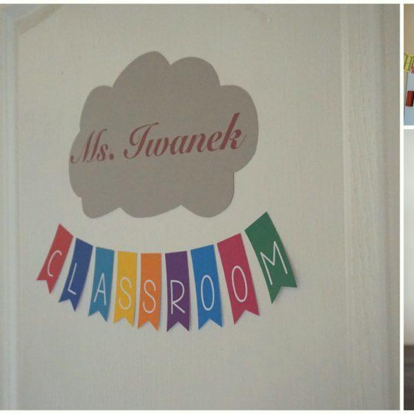 Małe dekoracje przygotowane przez p. Paulinę