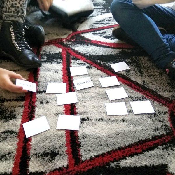 Memory Game czyli gra w pamięć -zabawa dla dzieci klas I-III na zajęciach z języka angielskiego