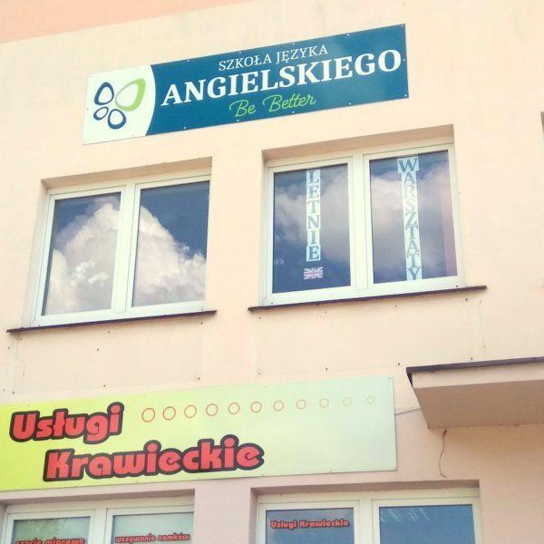Tu mieści się Szkoła Języka Angielskiego - Be Better - Piłsudskiego 81B