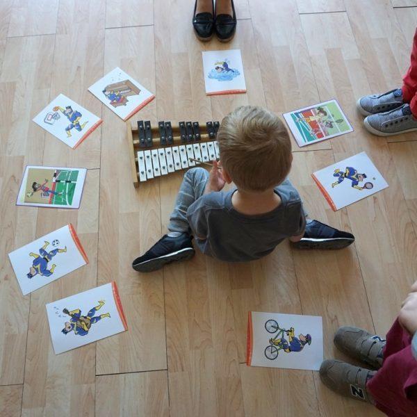 Zabawa muzyczna na języku angielskim - Ostrów Wielkopolski - Nauka przez zabawę