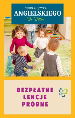 Bezpłatne lekcje próbne - Szkoła Języka Angielskiego Be Better - Ostrów Wielkopolski