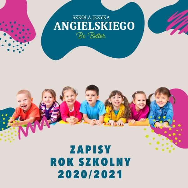 Angielski dla dzieci - zapisy - Szkoła Języka Angielskiego Be Better Ostrów Wielkopolski