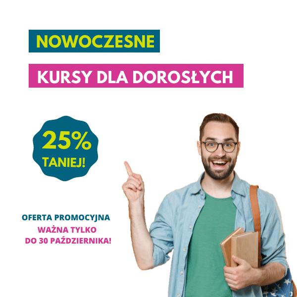 Nowoczesne kursy języka angielskiego dla dorosłych - Szkoła Językowa Ostrów Wielkopolski